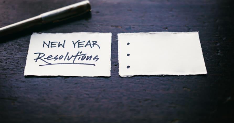 새해 결심을 기리고 있습니까?